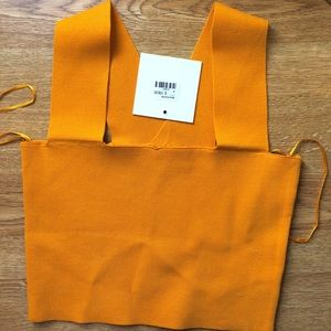 LF Stores Marigold Bandage Top
